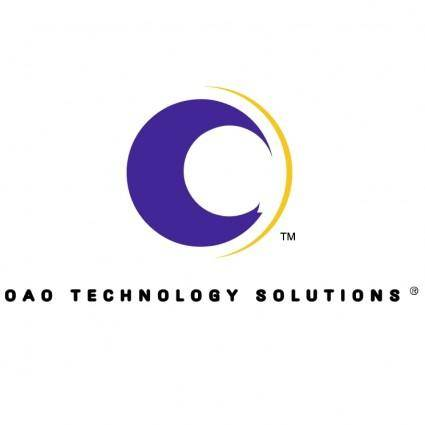 free vector Oao technology solutions