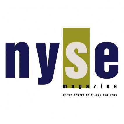 Nyse magazine