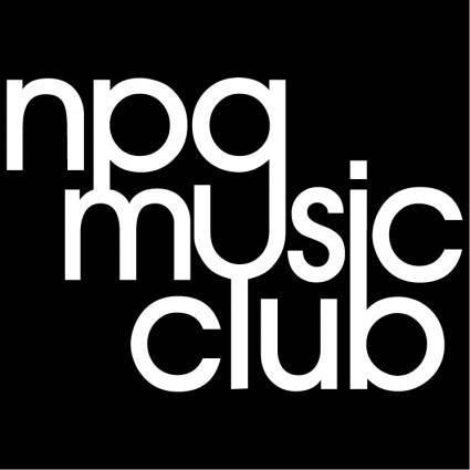 free vector Npg music club