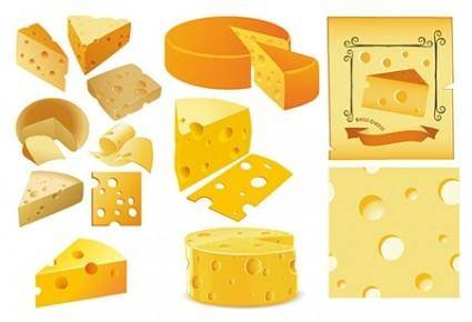 Vector Cheese Collection