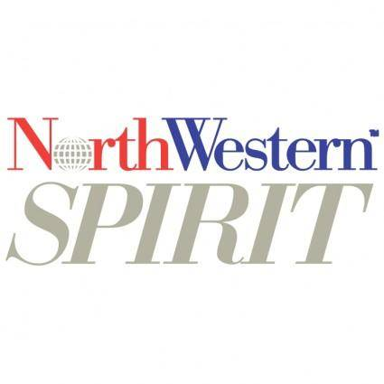free vector Northwestern spirit