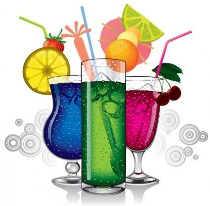 free vector Vector Cocktail