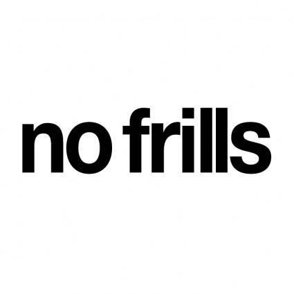 free vector No frills