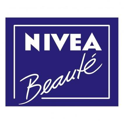 free vector Nivea beaute