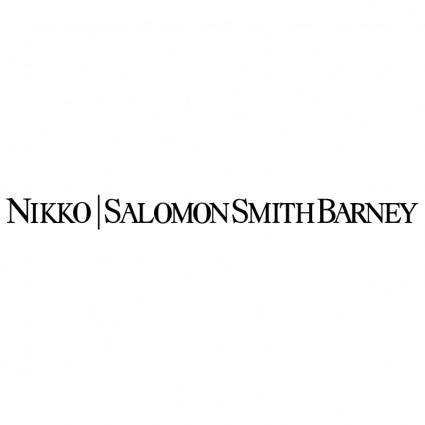 Nikko salomon smith barney