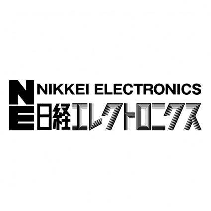 free vector Nikkei electronics