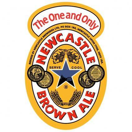 free vector Newcastle brown ale