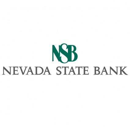Nevada state bank