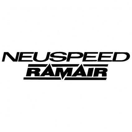 free vector Neuspeed ramair
