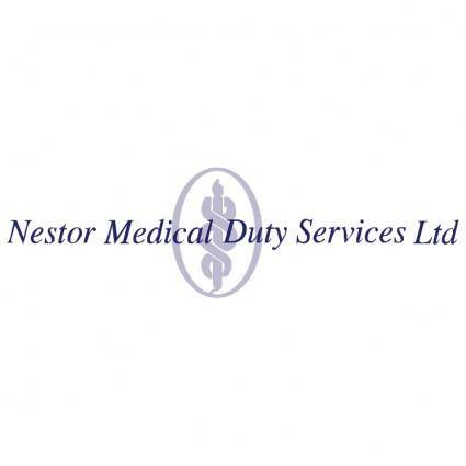 free vector Nestor medical duty services