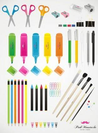 free vector Vector School Elements
