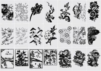 Oriental Vector Elements