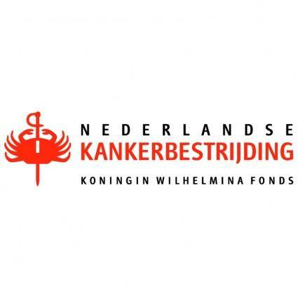 free vector Nederlandse kankerbestrijding