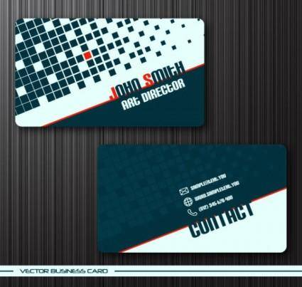 Foreign business card templates vector