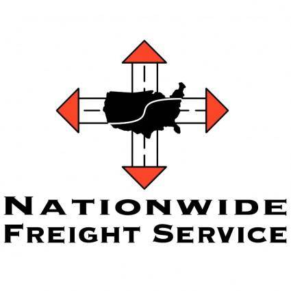 free vector Nationwide freight service