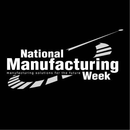 free vector National manufacturing week