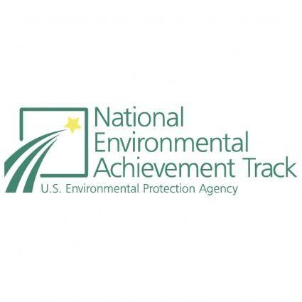 free vector National environmental achievement track