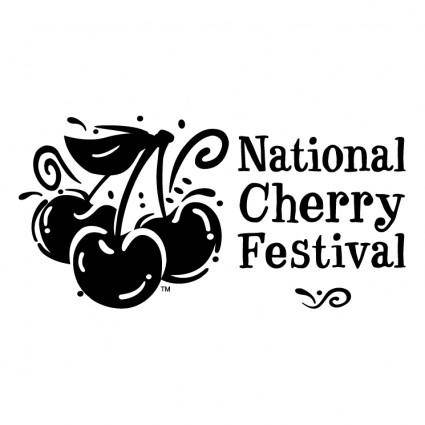 free vector National cherry festival