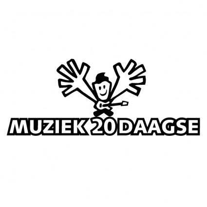 Muziek 20 daagse
