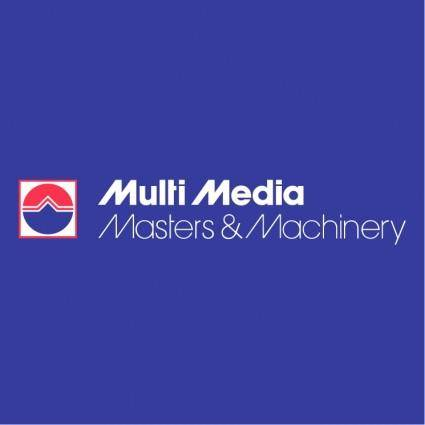 free vector Multi media masters machinery