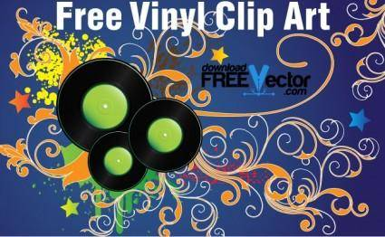free vector Free Vinyl Clip Art