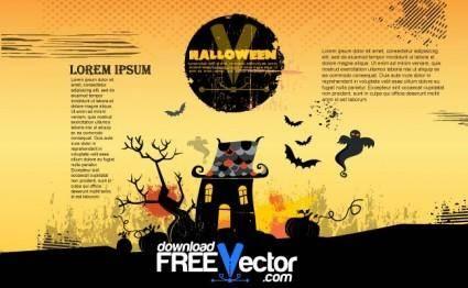 Vector Halloween Poster