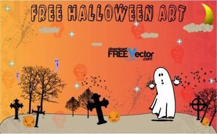 free vector Free Halloween Art