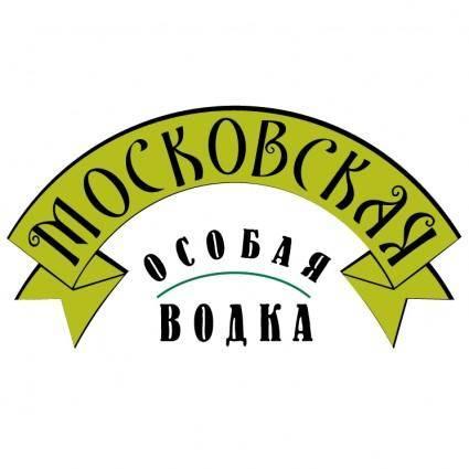 free vector Moskovskaya vodka