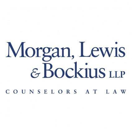 Morgan lewis bockius
