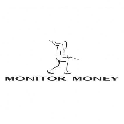 free vector Monitor money