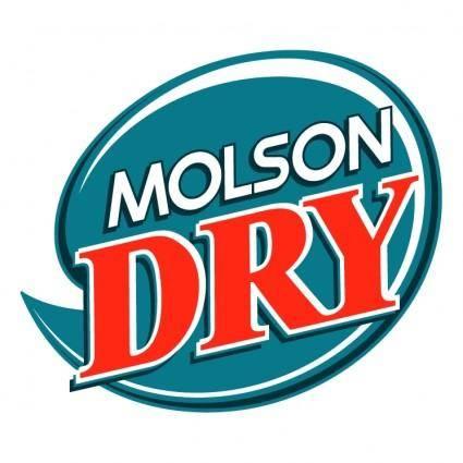 free vector Molson dry 0