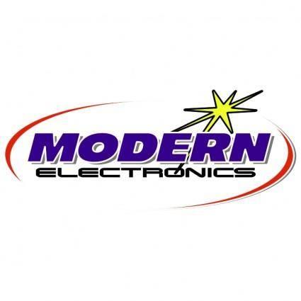free vector Modern electronics