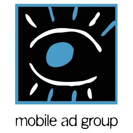 free vector Mobile ad group