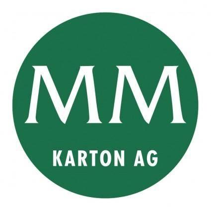 free vector Mm karton