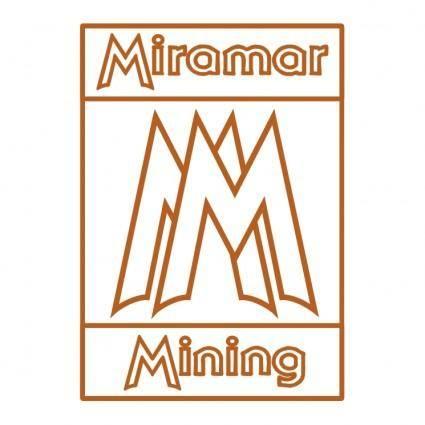 free vector Miramar mining