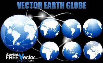 Vector Earth Globe