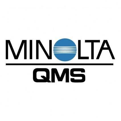 free vector Minolta qms