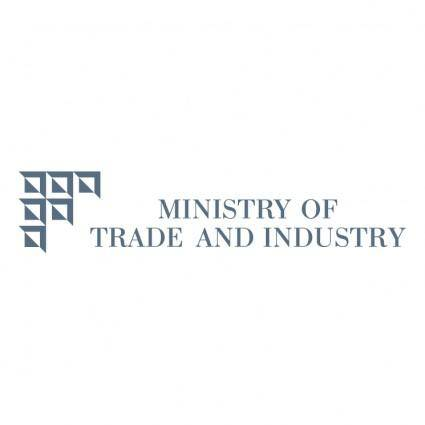 free vector Ministry of trade and industry