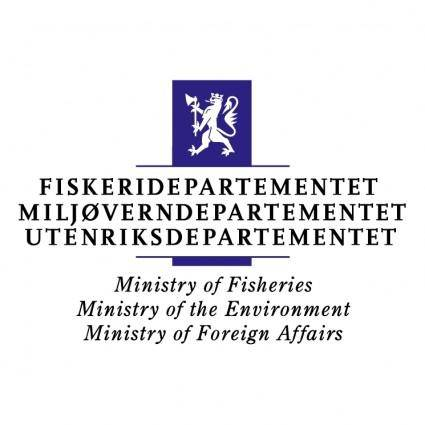 free vector Ministry of fisheries