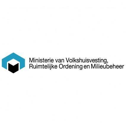 free vector Ministerie van vrom
