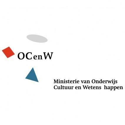 free vector Ministerie van onderwijs cultuur en wetenschappen