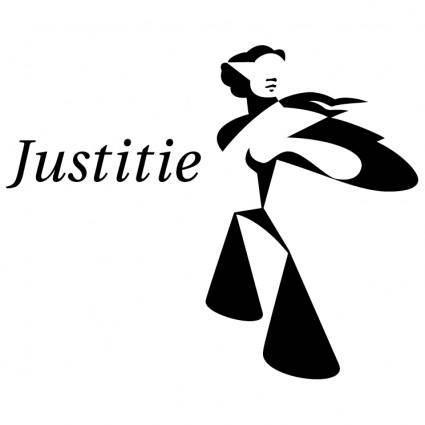 free vector Ministerie van justitie
