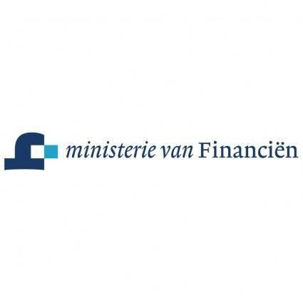 free vector Ministerie van financien