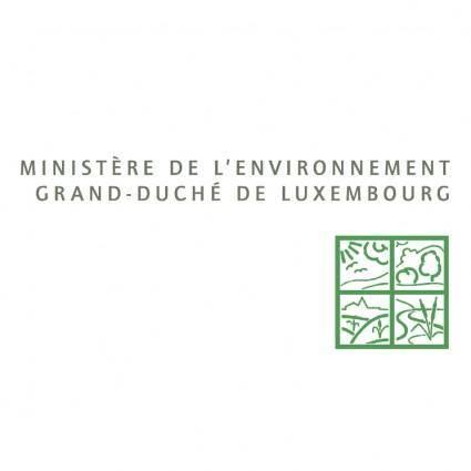 Ministere de lenvironnement