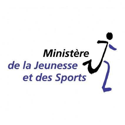 Ministere de la jeunesse et des sports