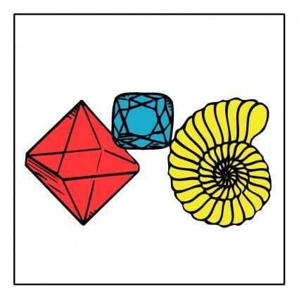 free vector Mineralien