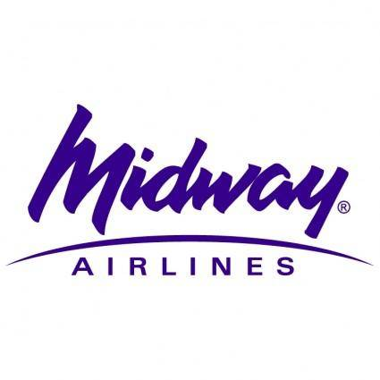 free vector Midway airlines