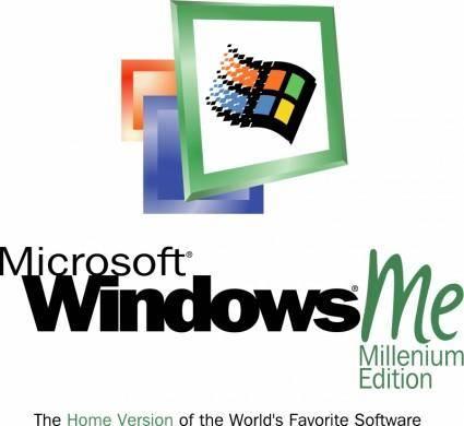 free vector Microsoft windows millenium edition 0
