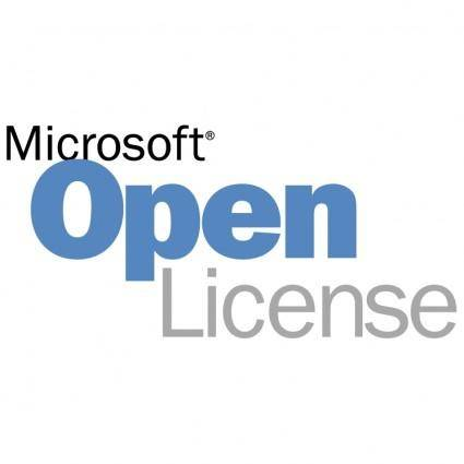 free vector Microsoft open license