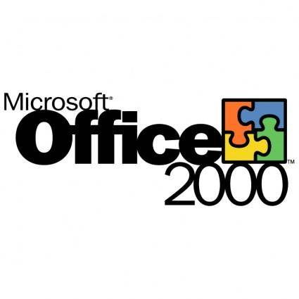 free vector Microsoft office 2000